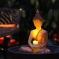 供应buddha LED wax candle with tealight