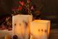 供应Square flameless wax candle