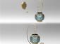 供应nacella metal tealight candle holder