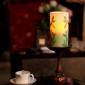 供应antique copper candle holder with pill
